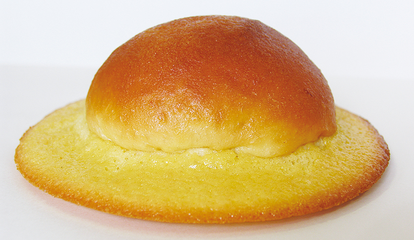 This hat-shaped bread was created in Kochi. The top part of the hat is  soft 9c7d13e0e