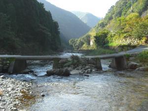 鏡川上流の写真